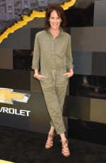 ANNABETH GISH at The Lego Batman Movie Premiere in Los Angeles 02/04/2017