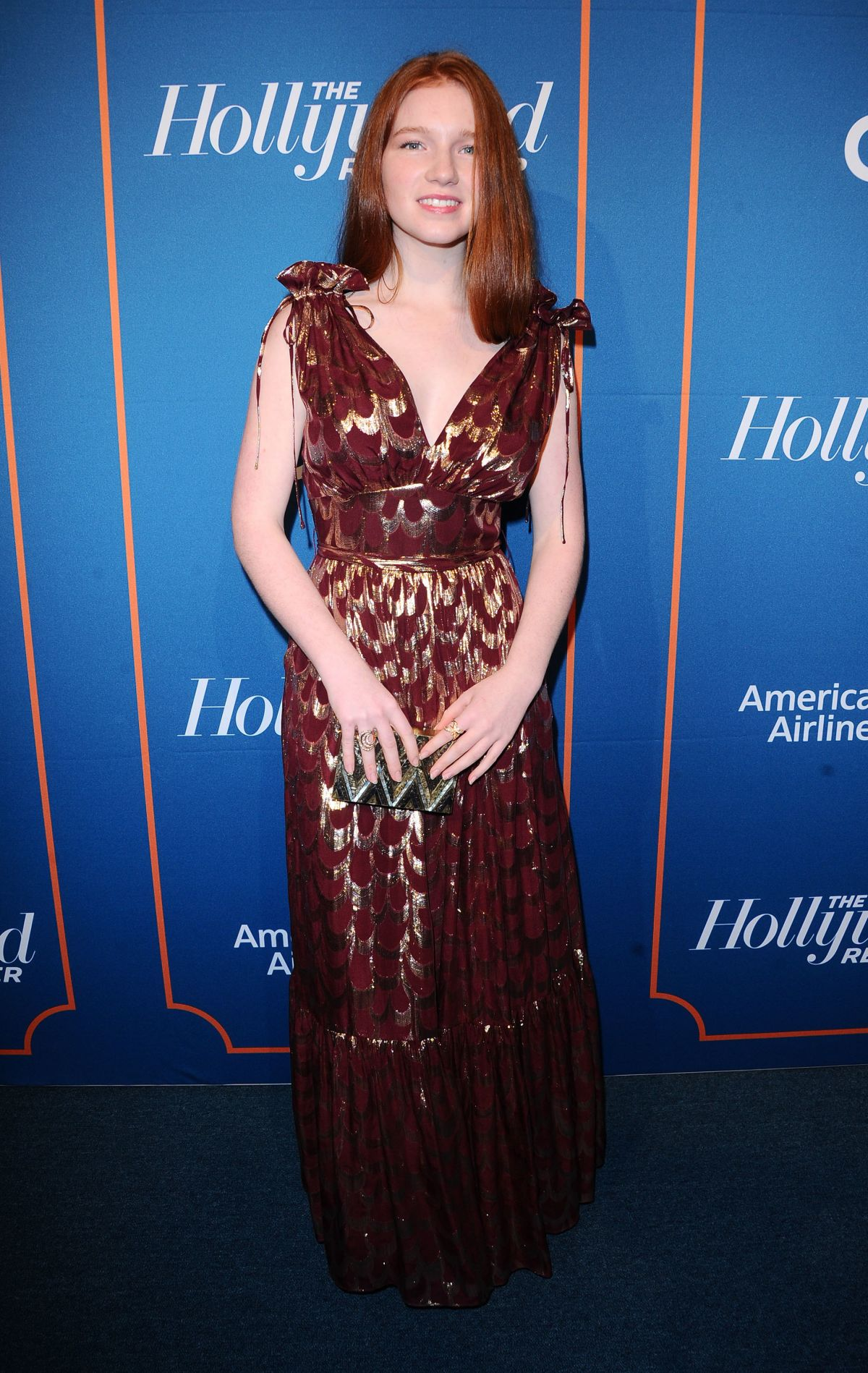 ANNALISE BASSO at The Hollywood Reporter 5th Annual Nominees Night in Beverly Hills 02/06/2017