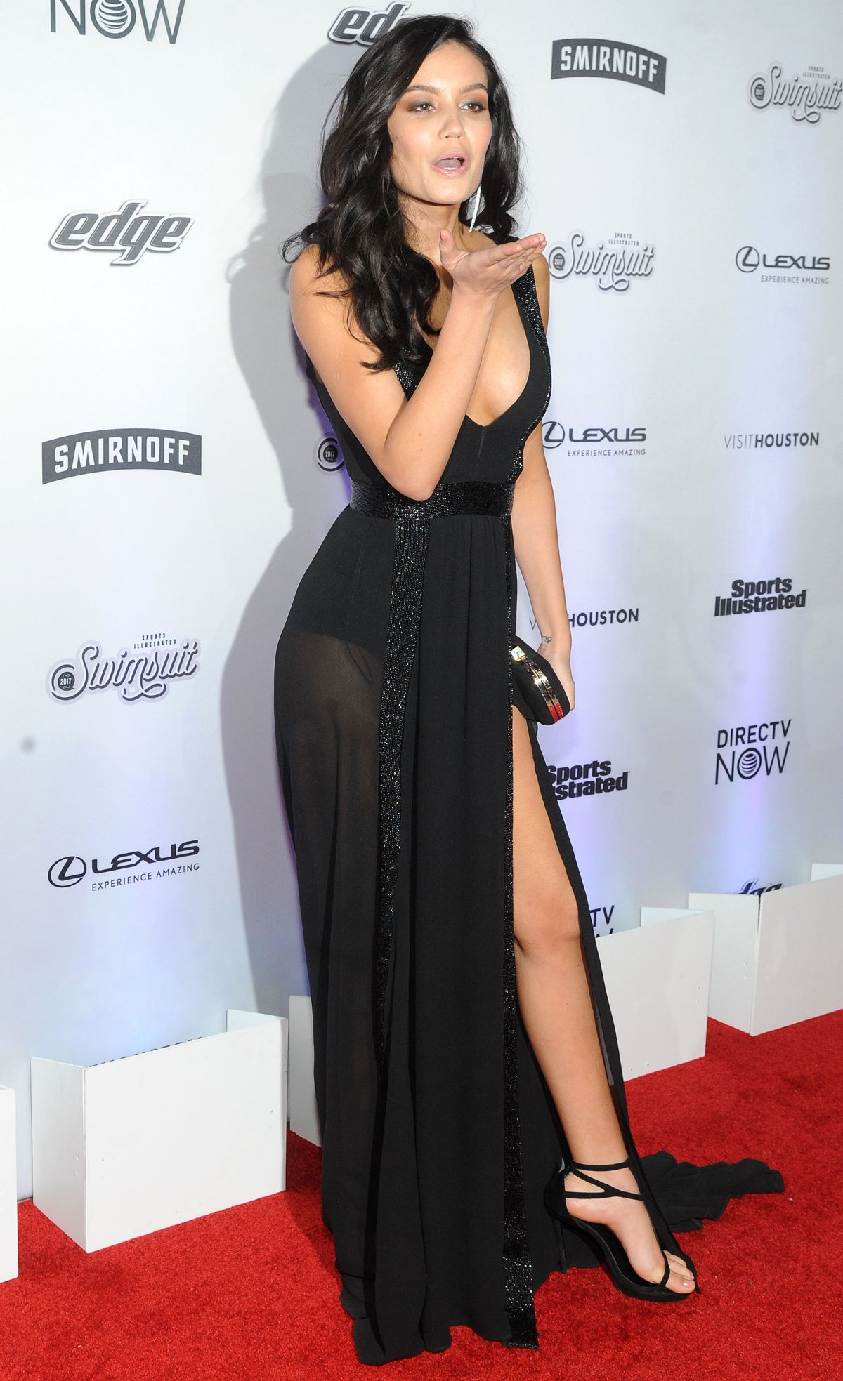 ANNE DE PAULA at Sports Illustrated Swimsuit Edition Launch