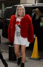 ANNE MARIE Arrives at BBC Radio 1 in London 02/16/2017