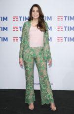 ANOUCHKA DELON at 67th Sanremo Music Festival in Italy 02/07/2017