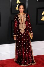 ANOUSHKA SHANKAR at 59th Annual Grammy Awards in Los Angeles 02/12/2017