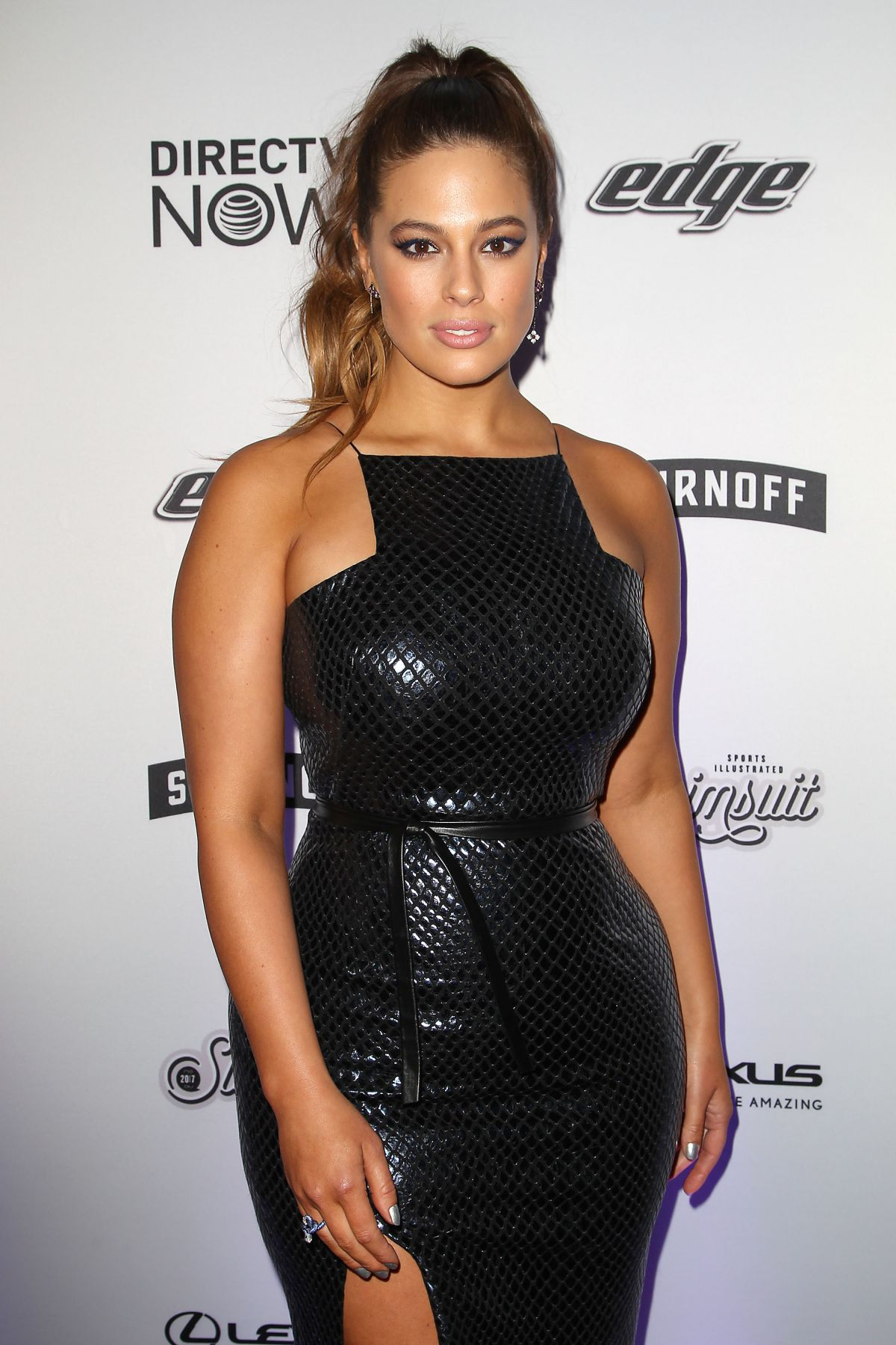 images Ashley graham vibes by si swimsuit launch festival in houston