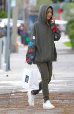 ASHLEY TIDALE Out for Lunch at Joans on Third in Studio City 02/20/2017