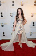 AVA CANTRELL at 44th Annual Annie Awards at Royce Hall in Los Angeles 02/05/2017