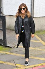 AYDA FIELD Leaves ITV Studio in London 02/20/2017