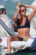 BARBIE BLANK in Bikini at a Beach in Miami 02/27/2017