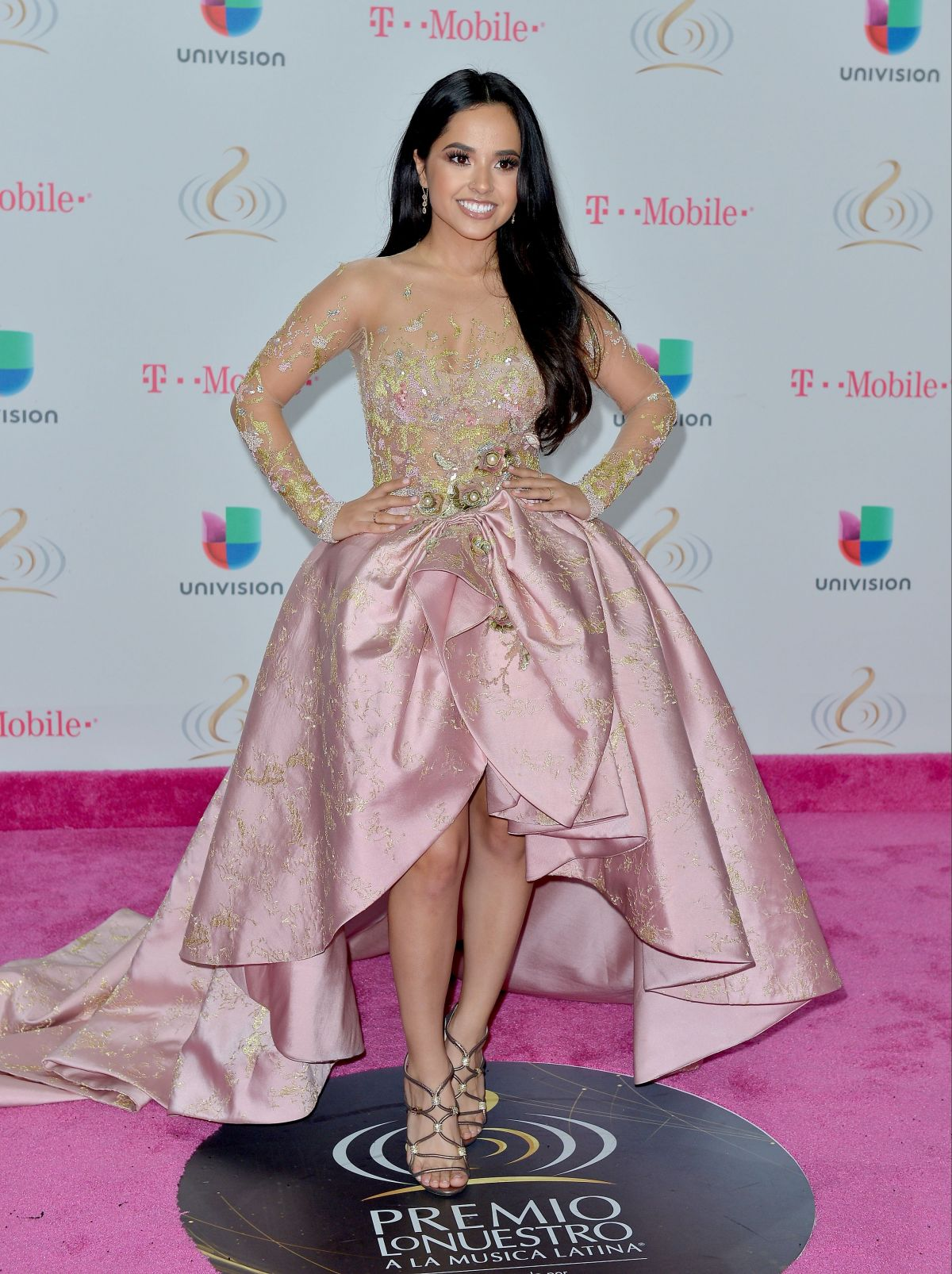 BECKY G at 29th Premio Lo Nuestro Ltin Music Awards in Miami 02/23/