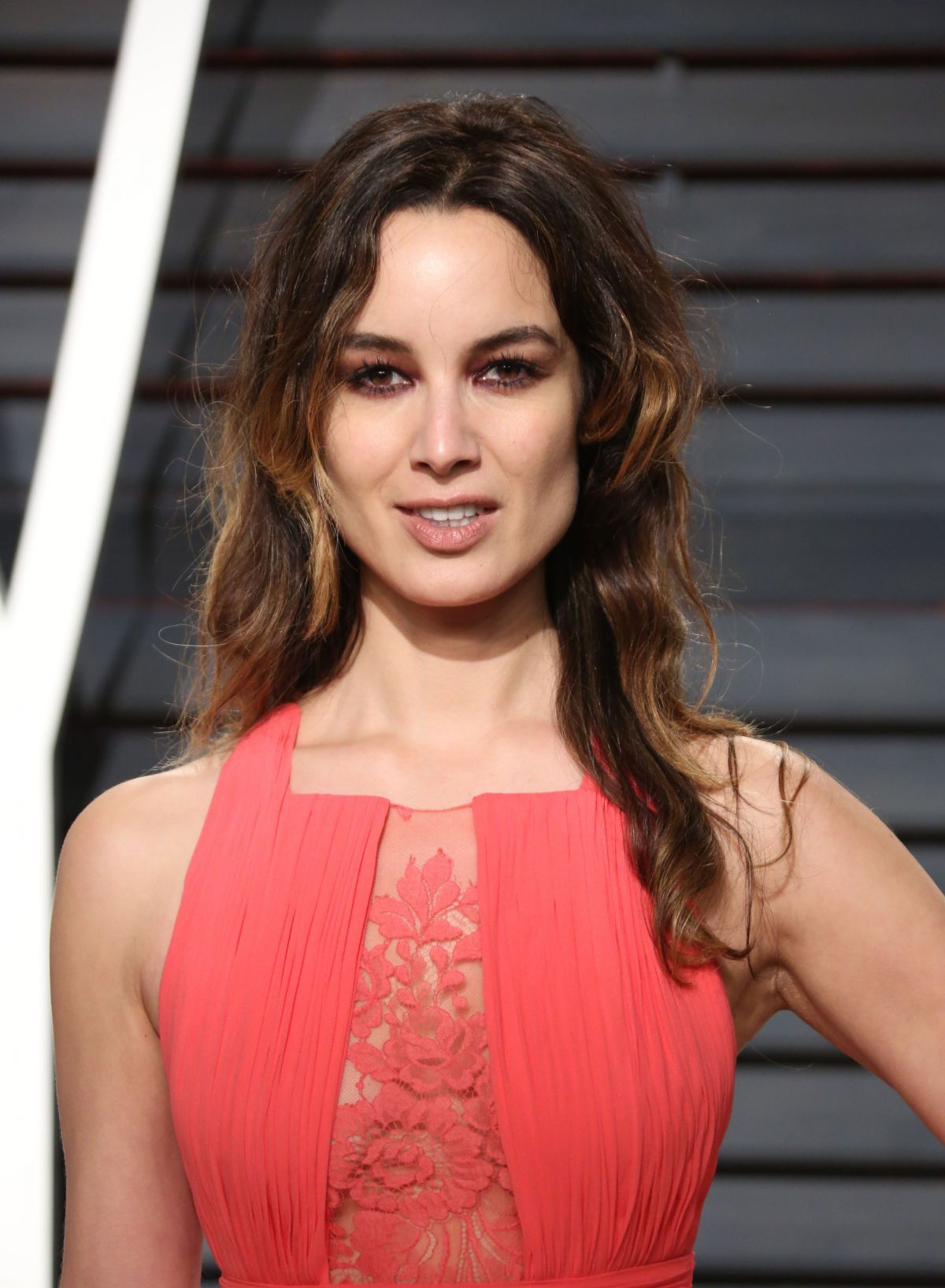BERENICE MARLOHE at 2017 Vanity Fair Oscar Party in Beverly Hills 02/26/2017