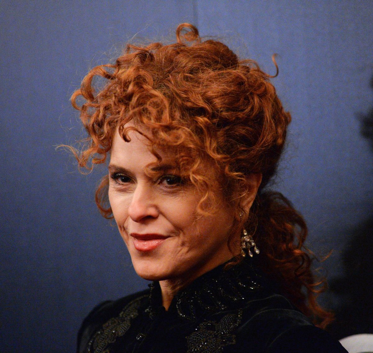 BERNADETTE PETERS at SUNSET BLVD Play Openning Night in ...