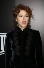 BERNADETTE PETERS at SUNSET BLVD Play Openning Night in New York 02/09/2017