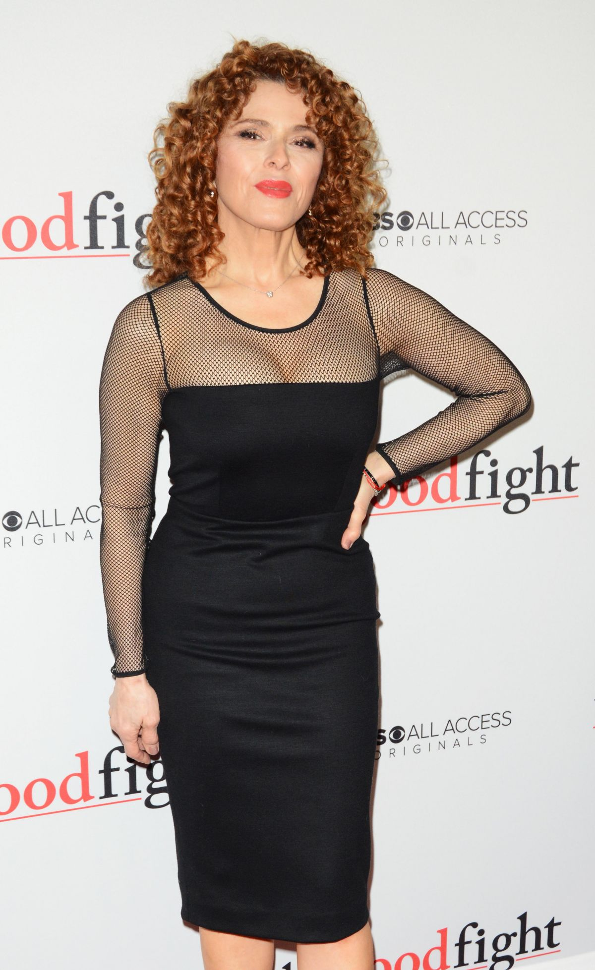 BERNADETTE PETERS at