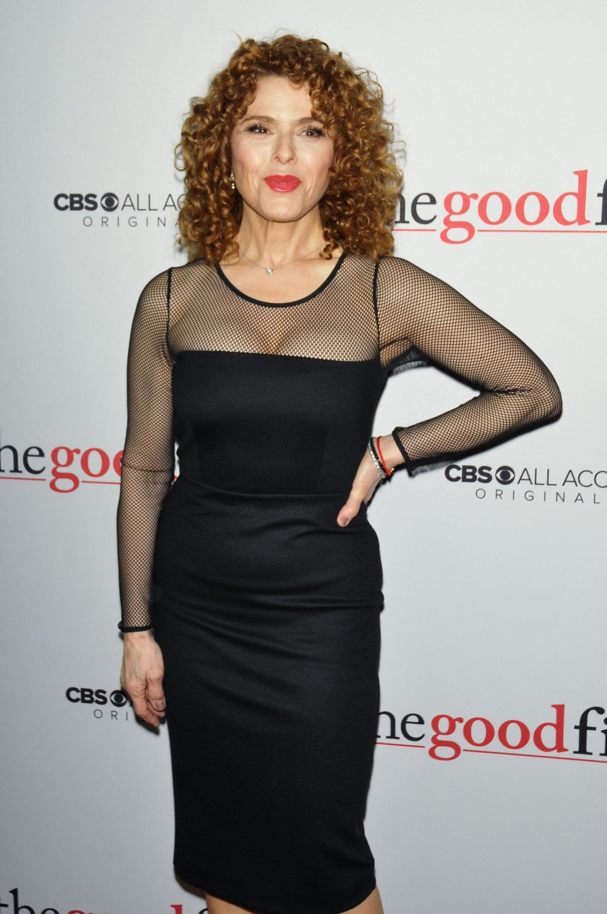 BERNADETTE PETERS at 'The Good Fight' Premiere in New York ...