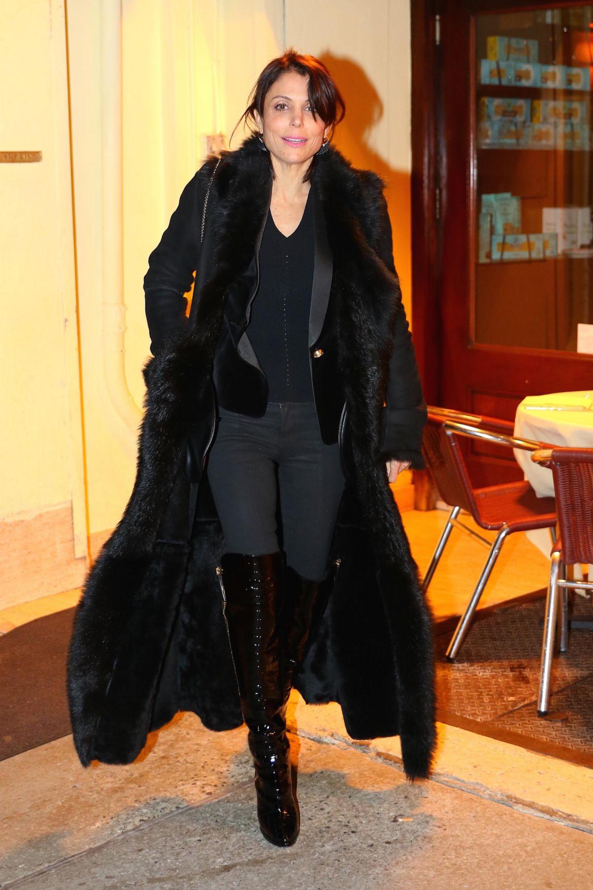 BETHENNY FRANKEL Leaves Cipriani in New York 02/07/2017