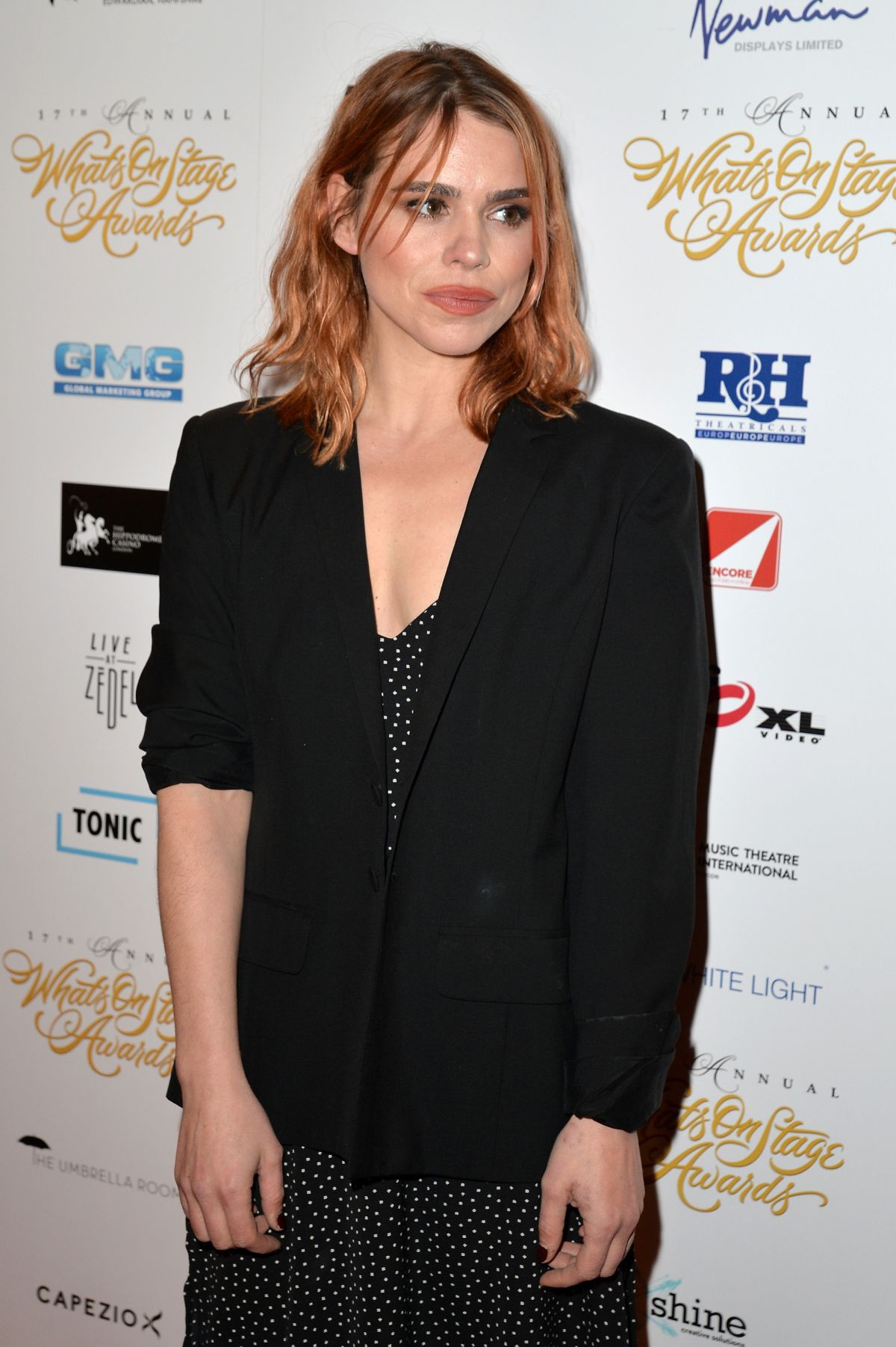 BILLIE PIPER at 2017 WhatsOnStage Awards Concert in London 02/19/2017