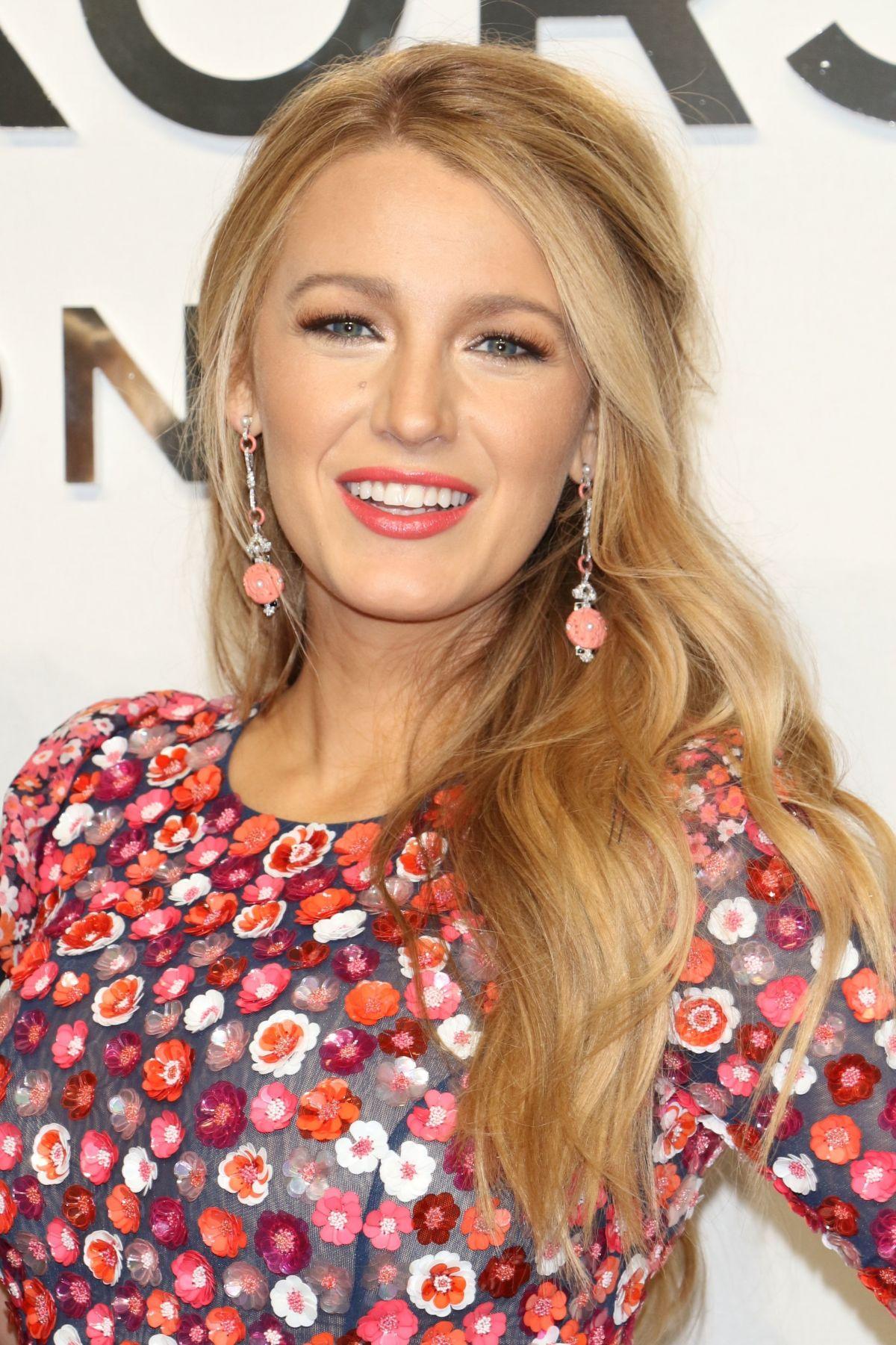 BLAKE LIVELY at Michael Kors Fashion Show at New York ... Blake Lively
