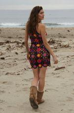 BLANCA BLANCO at a Beach in Malibu 02/05/2017