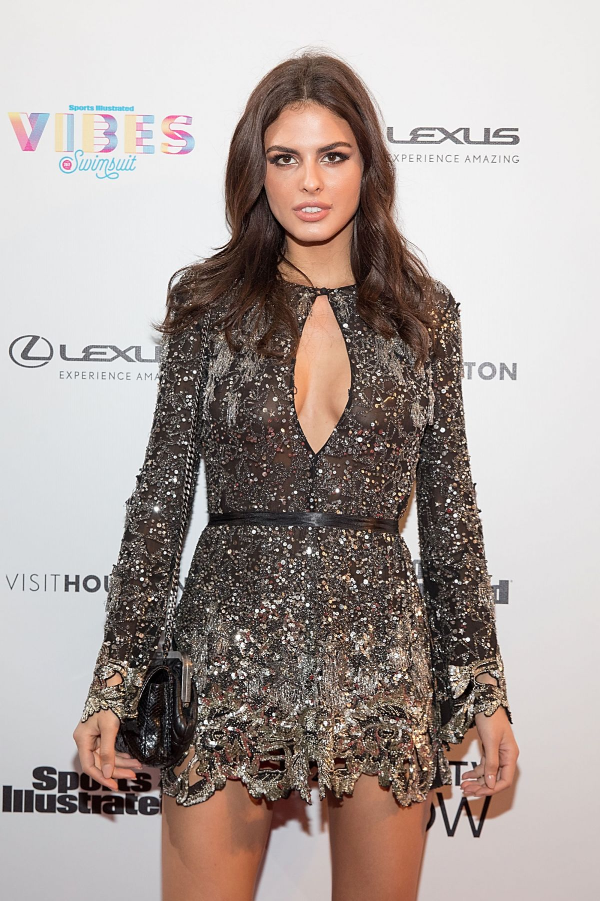 BO KRSMANOVIC at VIBES by SI Swimsuit 2017 Launch Festival Day 2 in Houston 02/18/2017