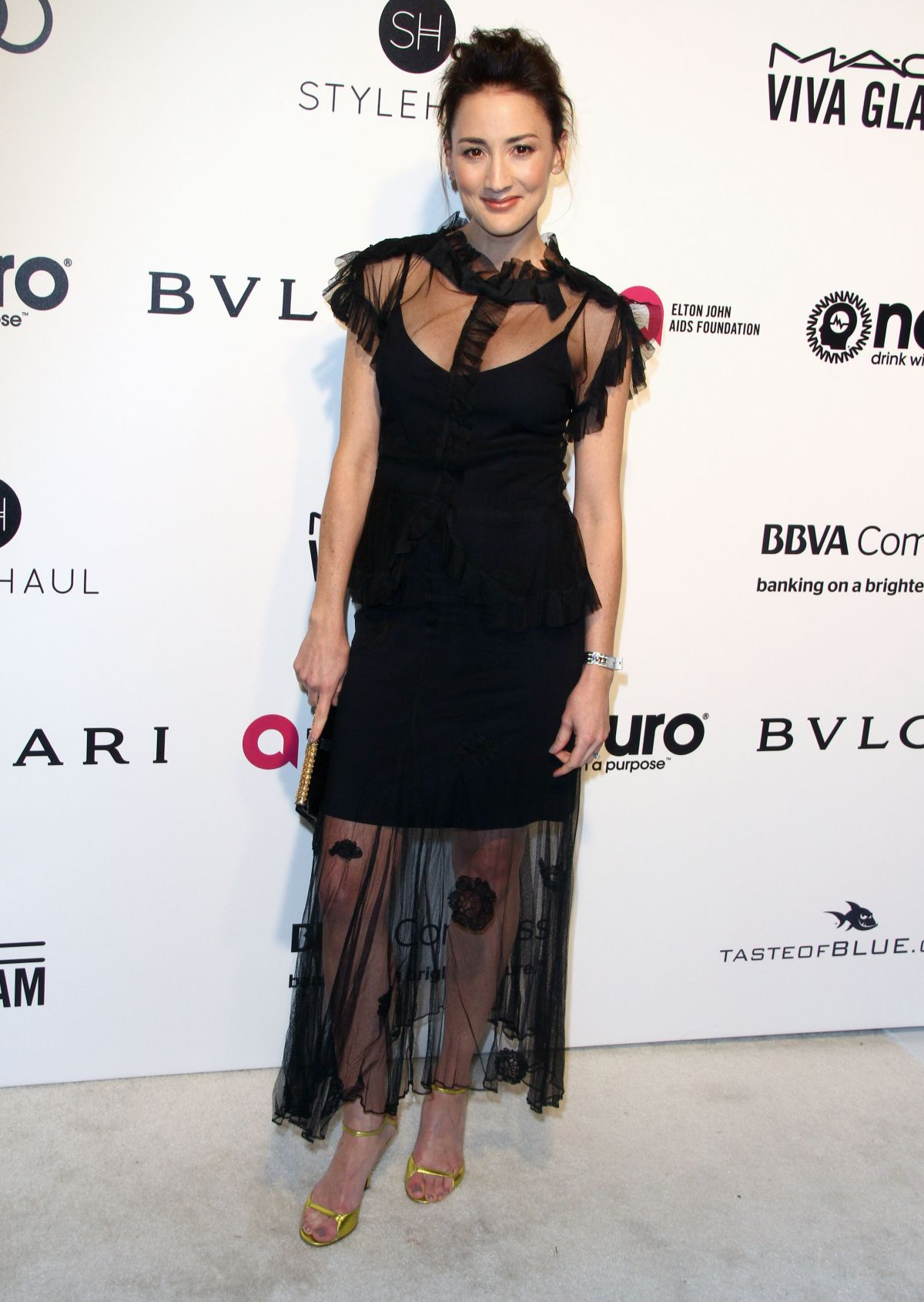 BREE TURNER at 25th Annual Elton John Aids Foundation's Oscar Viewing Party in Hollywood 02/26/2017