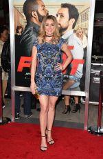 BRIANNA BROWN at 'Ffist Fight' Premiere in Westwood 02/13/2017