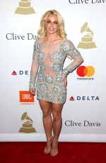 BRITNEY SPEARS at Clive Davis Pre-grammy Party in Los Angeles 02/11/2017