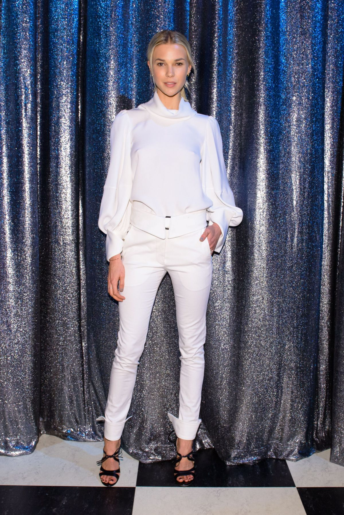 BRITT MAREN at Oscar De La Renta Fashion Show in New York 02/13/2017