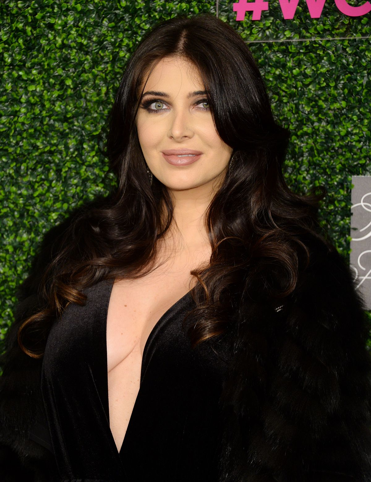 BRITTNY GASTINEAU at WCRF An Unforgettable Evening in Beverly Hills 02/16/2017