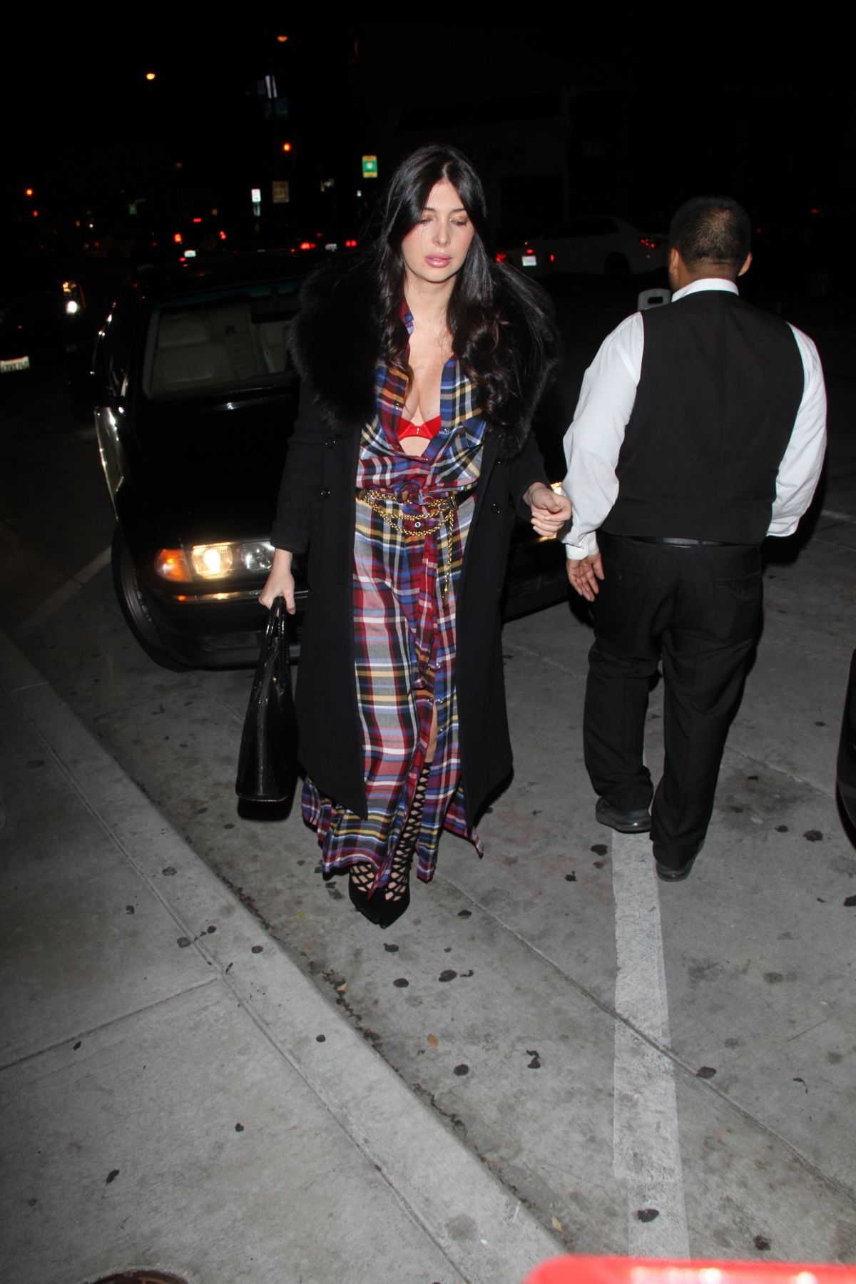 BRITTNY GASTINEAY at Catch LA in West Hollywood 01/31/2017