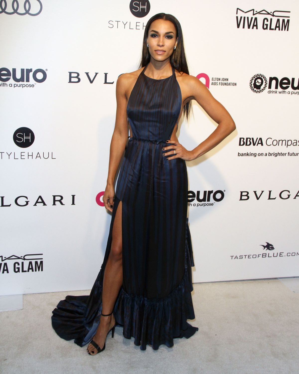 BROOKLYN SUDANO at 25th Annual Elton John Aids Foundation's Oscar Viewing Party in Hollywood 02/26/2017
