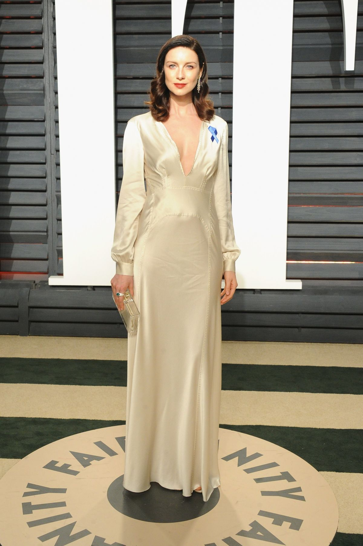 CAITRIONA BALFE At 2017 Vanity Fair Oscar Party In Beverly