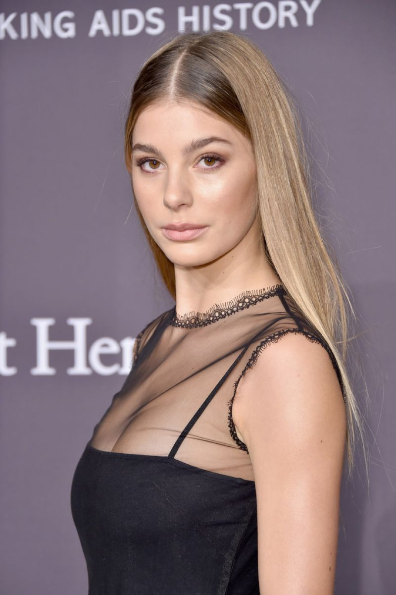 CAMI MORRONE at AMFAR 2017 New York Gala 02/08/2017