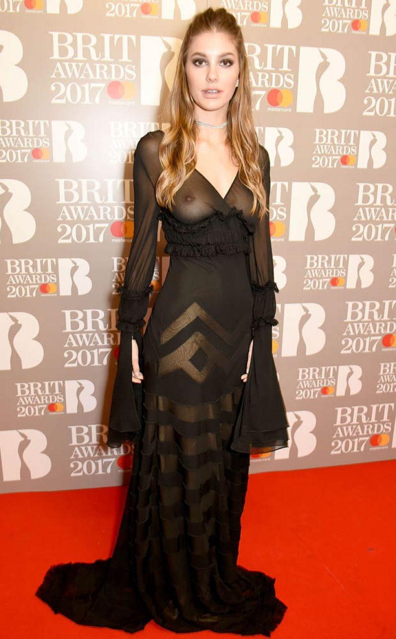 CAMILA MORRONE at Brit Awards 2017 in London 02/22/2017
