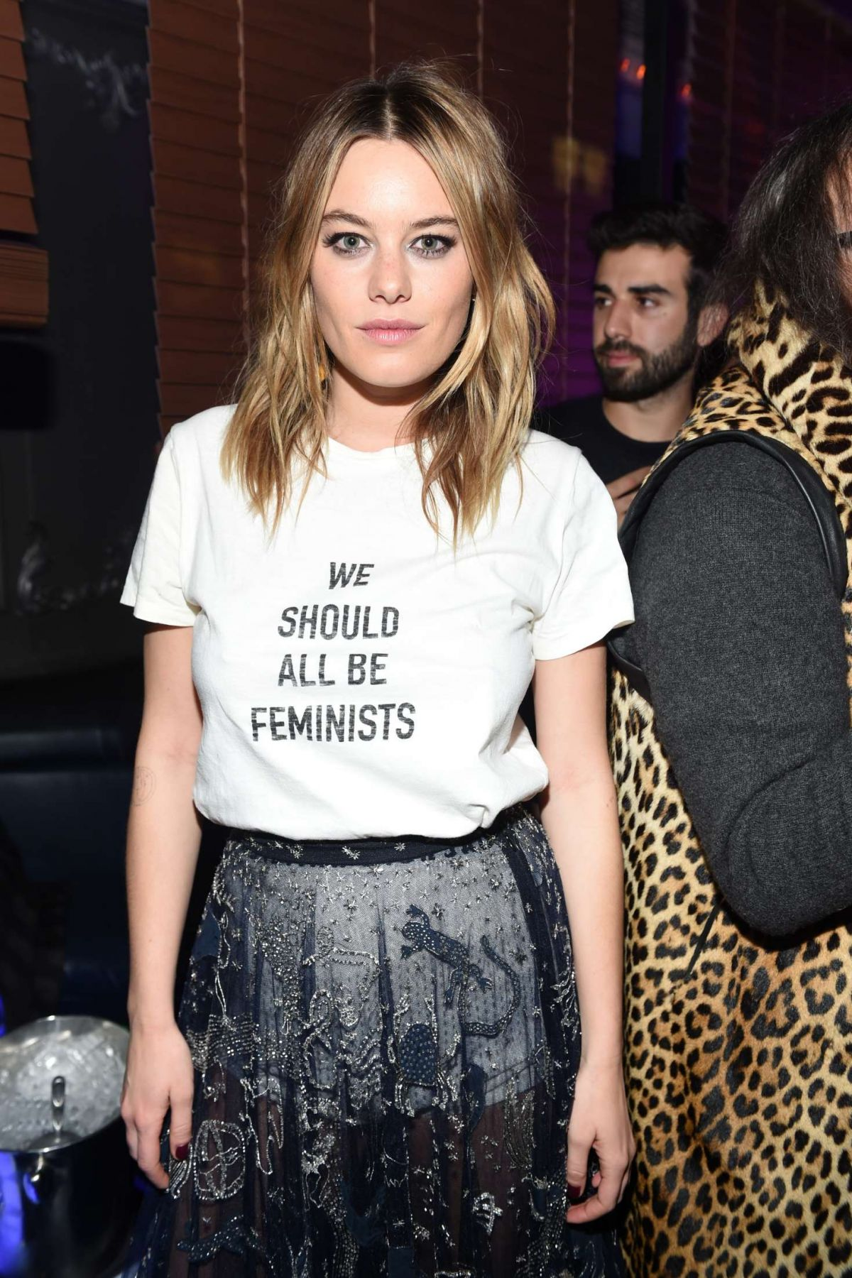 CAMILLE ROWE at Dior Celebrates Poison Girl in New York 01/31/2017