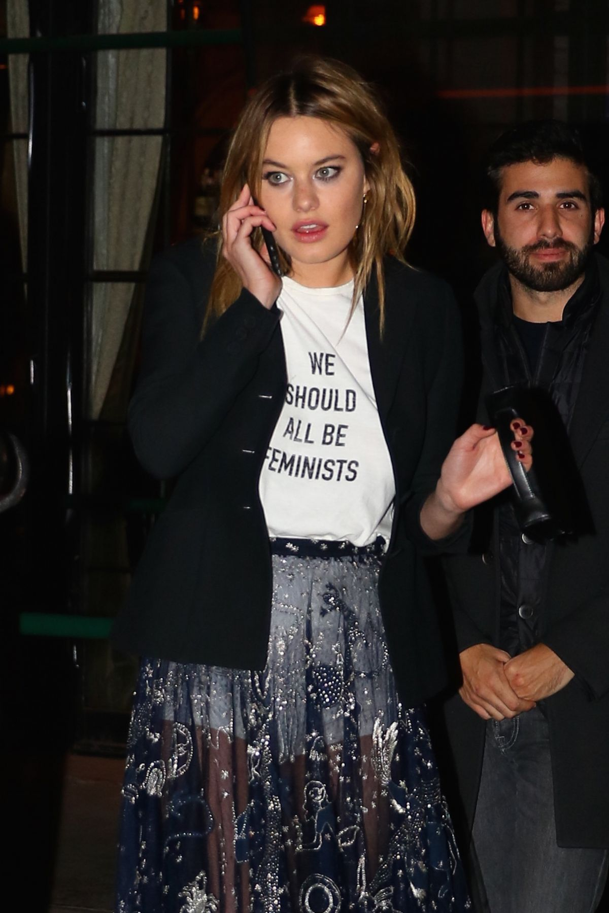 Camille Rowe Night Out In New York 01 31 2017 Hawtcelebs