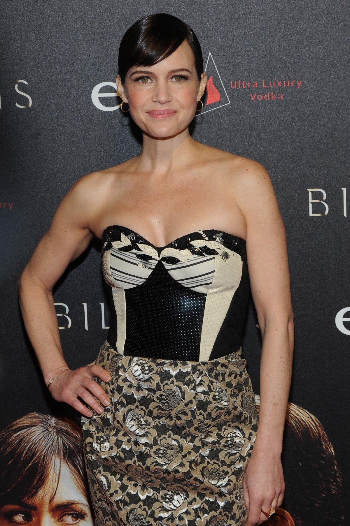 CARLA GUGINO at 'Billions' Season 2 Premiere in New York 02/13/2017