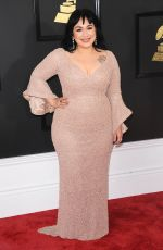 CARLA MORRISON at 59th Annual Grammy Awards in Los Angeles 02/12/2017