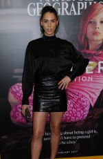 CARMEN CARRERA at Gender Revolution: A Journey with Katie Couric Premiere in New York 02/02/2017
