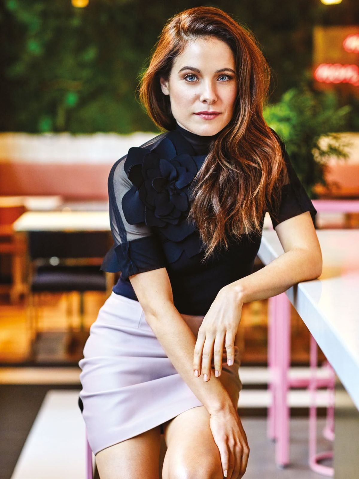CAROLINE DHAVERNAS in Chatelaine Magazine, March 2017