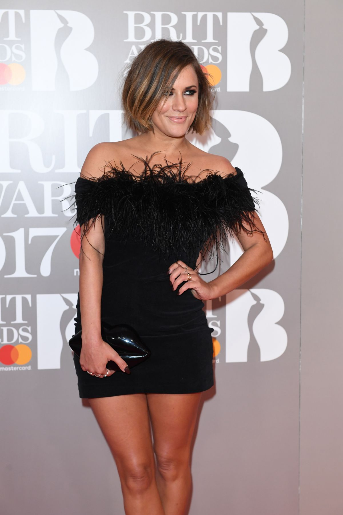 CAROLINE FLACK at Brit Awards 2017 in London 02/22/2017