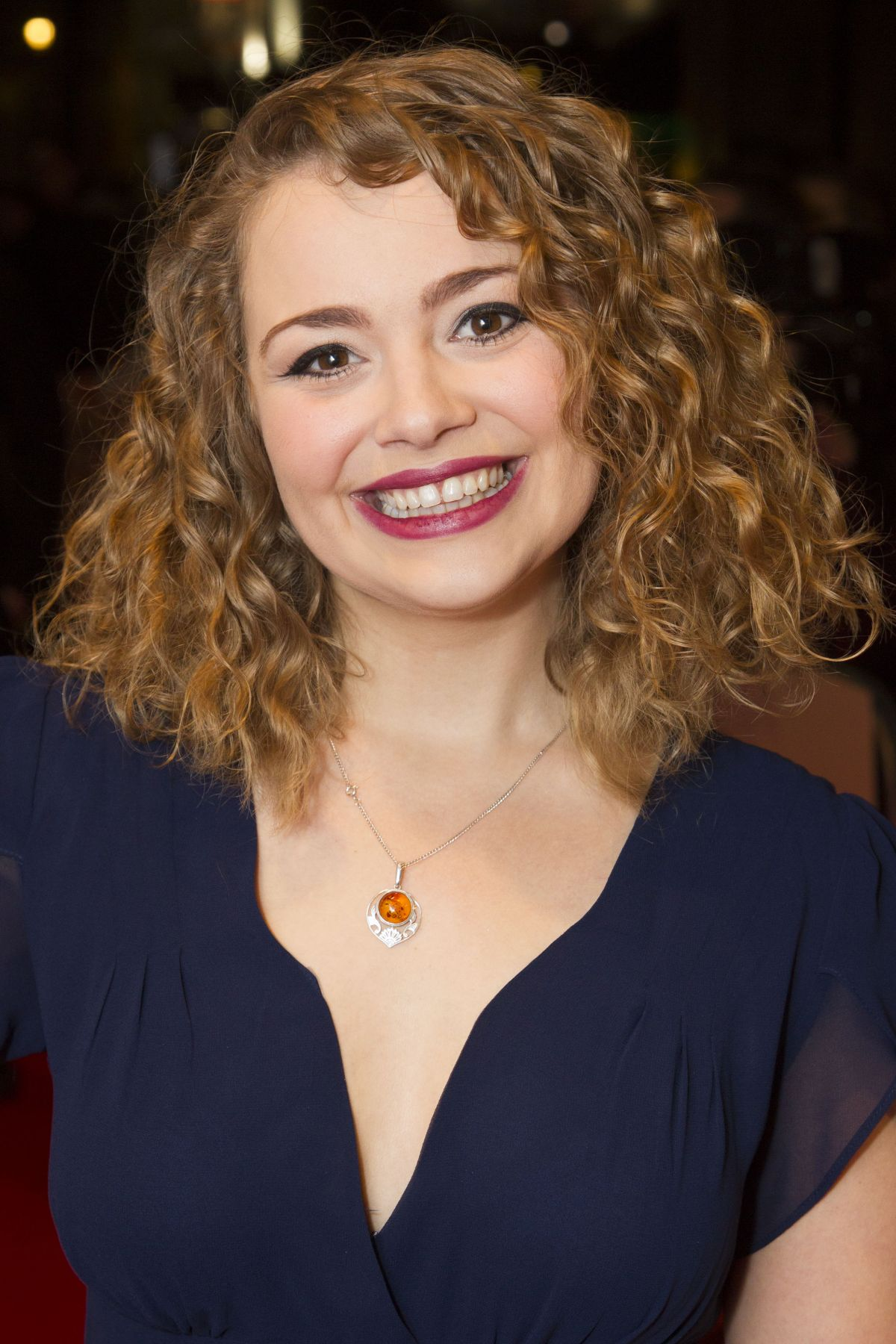 CARRIE HOPE FLETCHER at 2017 WhatsOnStage Awards Concert in London 02/19/2017