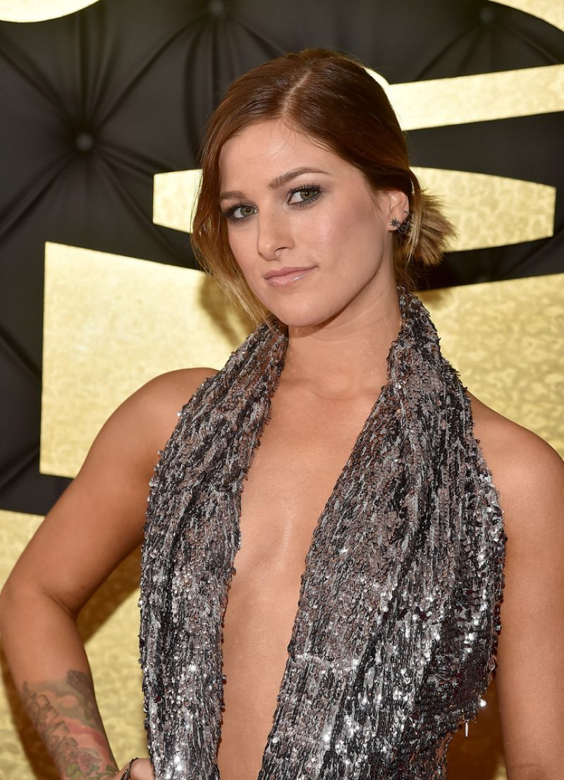 CASSADEE POPE at 59th Annual Grammy Awards in Los Angeles 02/12/2017