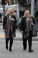 CATHY LEE CROSBY Out nad About in Los Angeles 02/01/2017