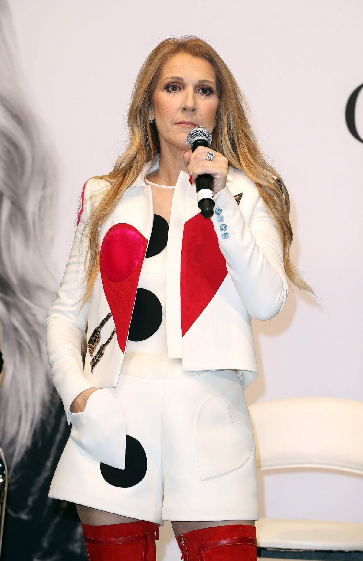 CELINE DION at Collection by Bugatti Unveiled at Magic ...