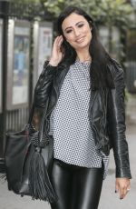 CHANTELLE HOUGHTON Arrives at ITV Studios in London, 02/10/2017