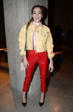 CHELSEA LEYLAND at Topshop Unique Show in London 02/19/2017