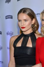 CHRISTIE, ALEXA and SAILOR BRINKLEY at Sports Illustrated Swimsuit Edition Launch in New York 02/16/2017