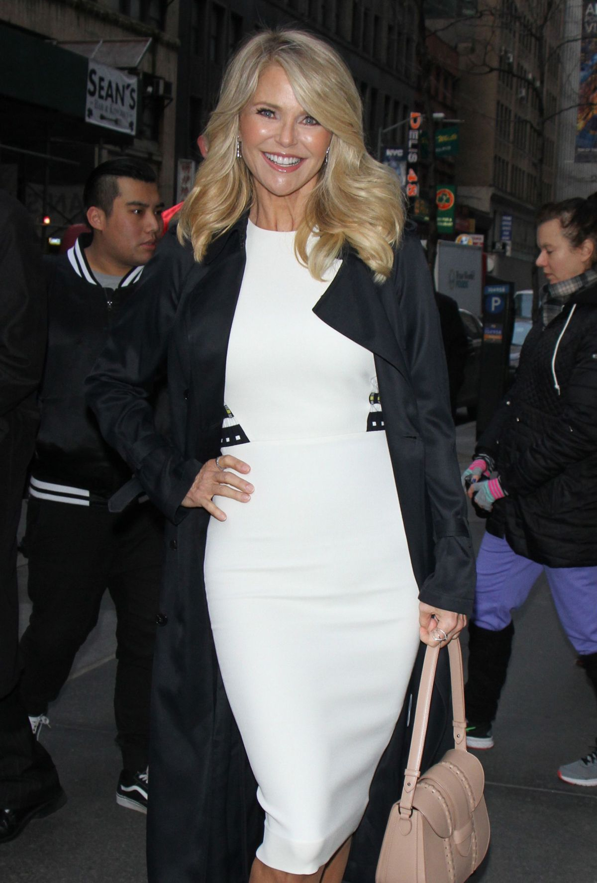 CHRISTIE BRINKLEY at Today Show in New York 02/15/2017