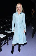 CHRISTINA RICCI at Altuzarra Fashion Show at New York Fashion Week 02/12/2017