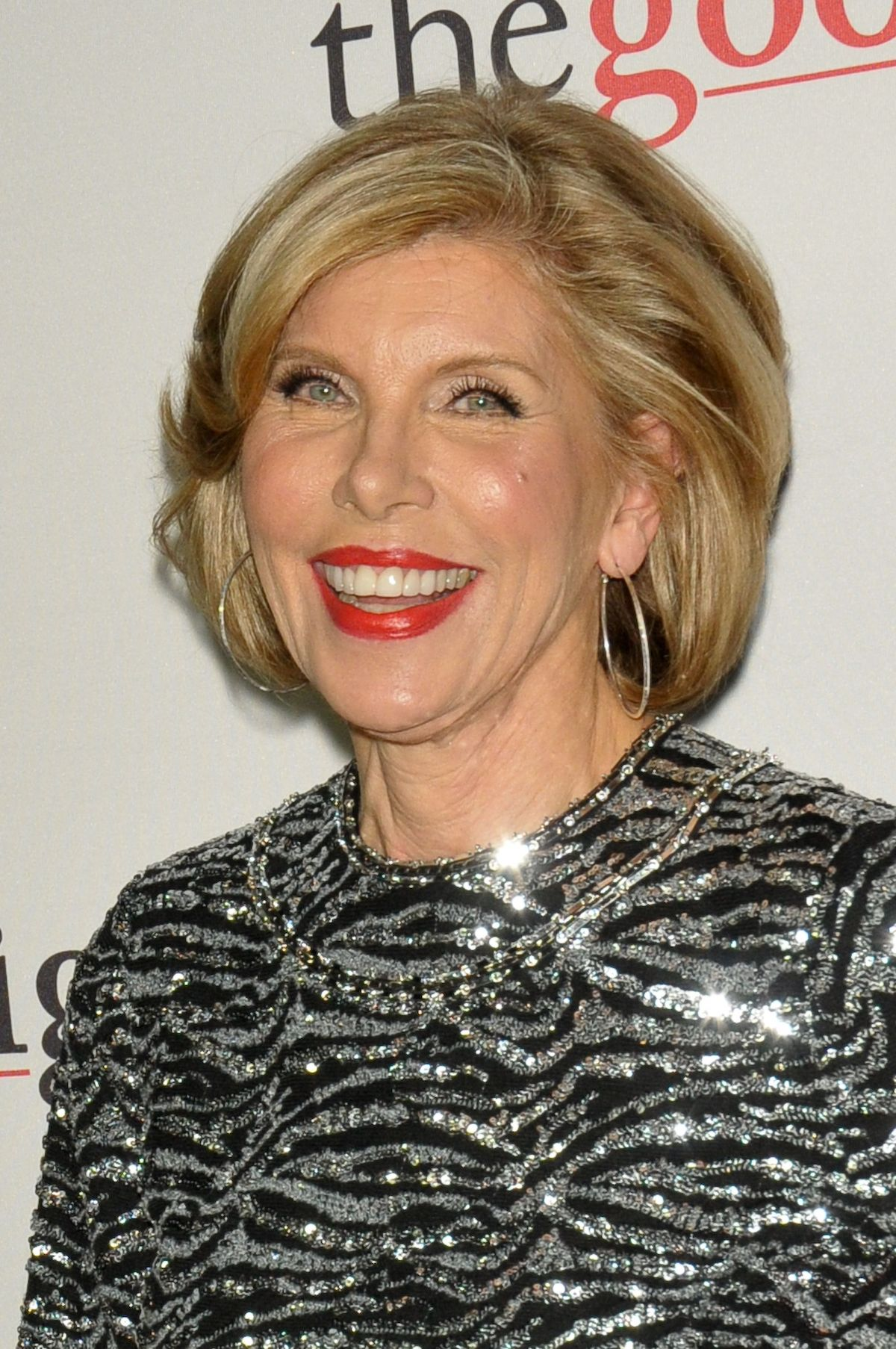 christine baranski at the fight premiere in new
