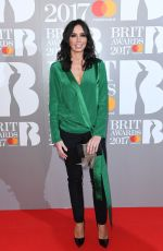 CHRISTINE BLEAKLEY at Brit Awards 2017 in London 02/22/2017